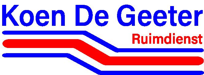 Ruimdienst Koen De Geeter Logo